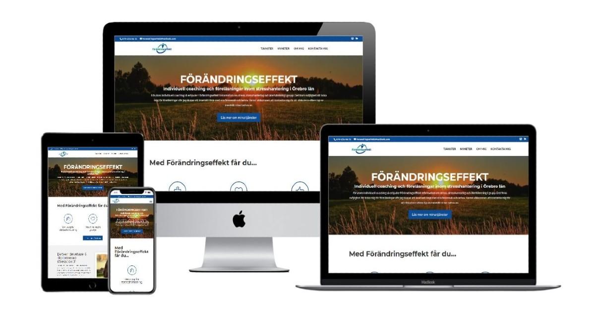 Förändringseffekt.se - Sitepartner.se