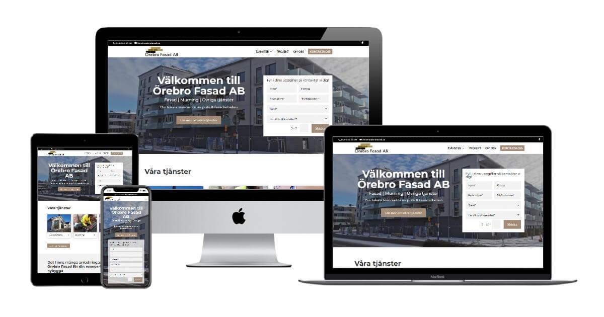 Örebro Fasad AB - Sitepartner